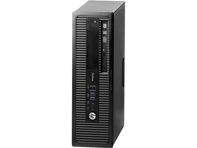 HP Desktop Computer ProDesk 600 G1 Intel Core i5 4th Gen 4570 (3.20 GHz) 8 GB DDR3 1 TB HDD Intel HD Graphics 4600 Windows 7 Professional
