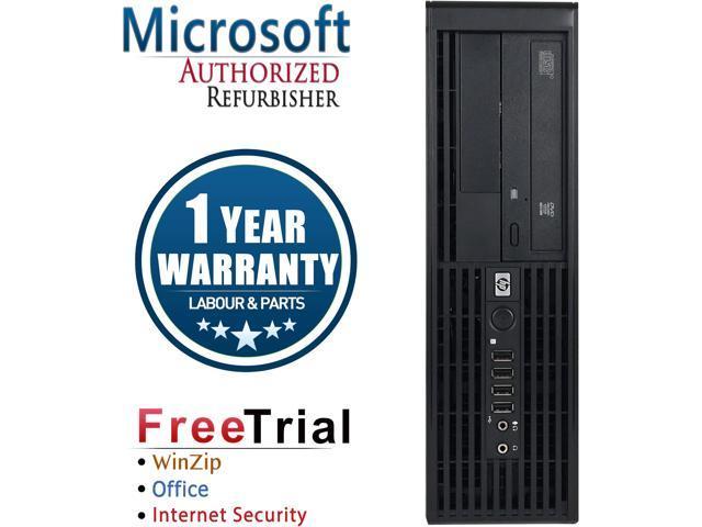 HP Desktop Computer Z220 Xeon E3-1240 v2 (3.40 GHz) 4 GB DDR3 250 GB HDD NVIDIA NVS 300 Windows 10 Pro