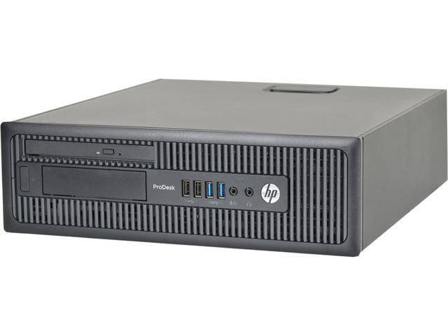 HP Desktop Computer 600 G1 Intel Core i5 4th Gen 4570 (3.20 GHz) 8 GB 2 TB HDD Windows 10 Pro 64-Bit