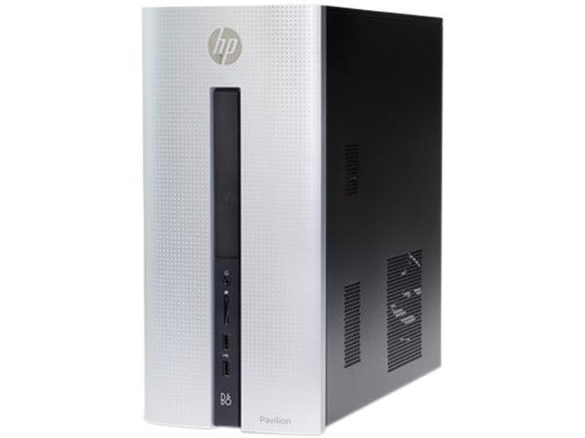 HP Desktop Computer Pavilion 550-109 A10-8000 Series A10-8750 (3.60 GHz) 12 GB DDR3 1 TB HDD AMD Radeon R7 240 2 GB Windows 10 Home 64-Bit