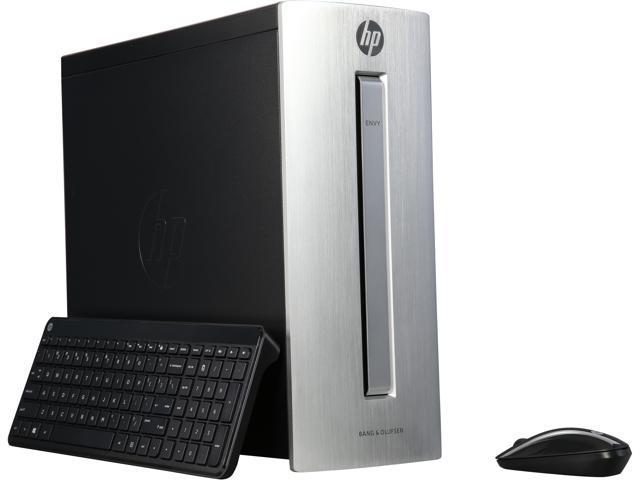 HP Desktop Computer ENVY 750-116 A10-Series APU A10-8750 (3.60 GHz) 12 GB DDR3 2 TB HDD AMD Radeon R7 Windows 10 Home