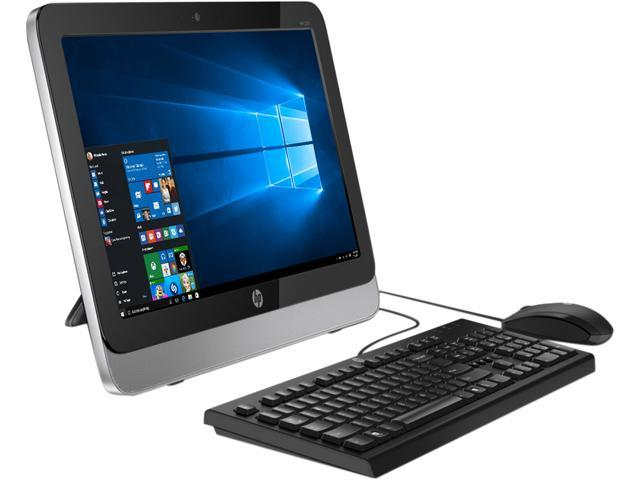 HP All-in-One Computer 205-G1 (E3T80LT) AMD E-Series E1-2500 (1.40 GHz) 4 GB 500 GB HDD 18.5