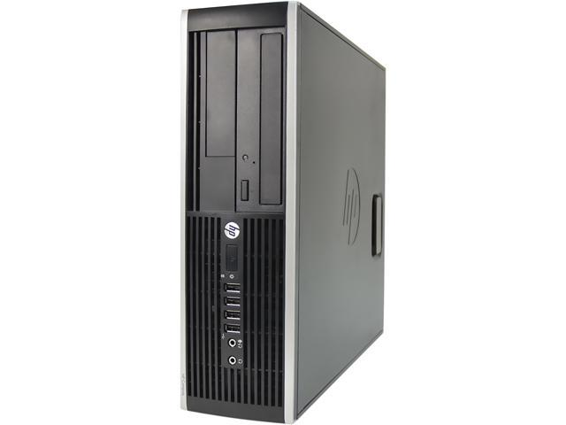 HP Desktop Computer 6300 Pentium G870 (3.10 GHz) 8 GB 2 TB HDD Windows 7 Professional 64-Bit