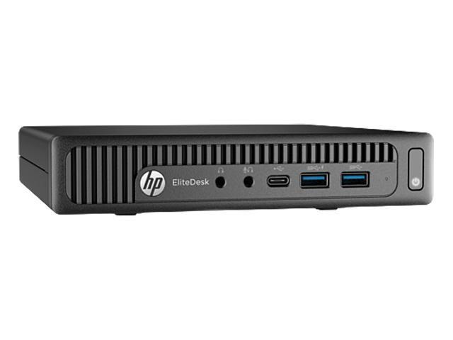 HP Desktop Computer EliteDesk 800 G2 (W5X88UT#ABA) Intel Core i5 6th Gen 6500T (2.50 GHz) 8 GB DDR4 500 GB HDD Intel HD Graphics 530 Windows 10 Pro 64-Bit