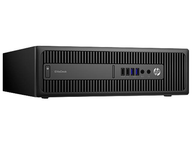 HP Desktop Computer EliteDesk 800 G2 (W5X91UT#ABA) Intel Core i5 6th Gen 6500 (3.20 GHz) 8 GB DDR4 500 GB HDD Intel HD Graphics 530 Windows 10 Pro 64-Bit
