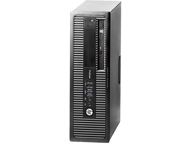 HP Grade A Desktop Computer ProDesk 600 G1 Intel Core i5 3.3 GHz 8 GB DDR3 500 GB HDD Windows 10 Pro 64-Bit