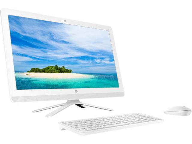 HP Bilingual All-in-One Computer 24-g009 Intel Core i3 6th Gen 6100U (2.30 GHz) 8 GB DDR4 1 TB HDD 23.8