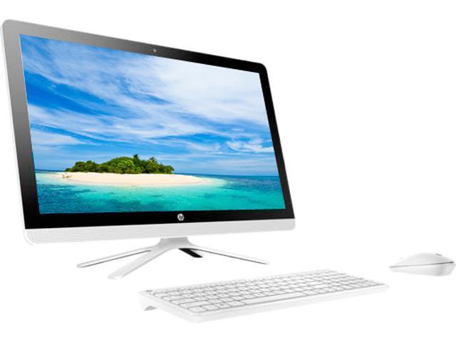 HP Bilingual All-in-One Computer 24-g039 Intel Core i3 6th Gen 6100U (2.30 GHz) 8 GB DDR4 1 TB HDD 23.8