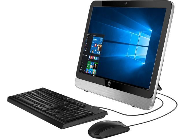 HP All-in-One Computer 22-3016 Celeron E1-6010 (1.35 GHz) 4 GB 500 GB HDD 21.5