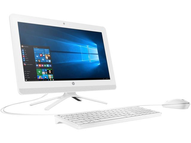 HP All-in-One Computer 20-c020 E Series E2-7110 (1.8 GHz) 4 GB 1 TB HDD 19.5