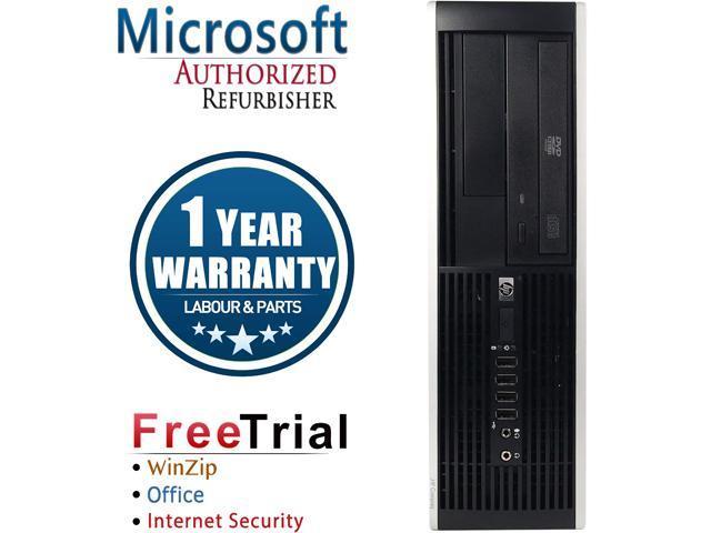 Refurbished HP 6200 PRO SFF Intel Core i5 2400 3.1G / 16G DDR3 / 120G SSD+2TB / DVD / Windows 10 Professional 64 Bit / 1 Year Warranty