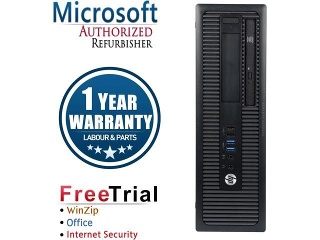 Refurbished HP EliteDesk 800G2 SFF Intel Core I5 6500 3.2G / 4G DDR4 / 2TB / DVD / Windows 10 Professional 64 Bits