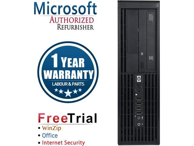 Refurbished HP Z220 SFF Intel Core I7 3770 3.4G / 4G DDR3 / 250G / DVDRW / NVS300 / Windows 10 Professional 64 Bits / 1 Year Warranty