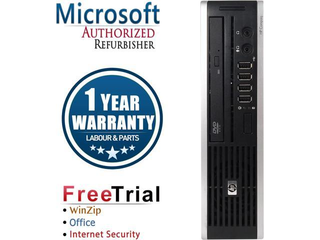 Refurbished HP Compaq Elite 8300 USFF Intel Pentium G2020 2.9G  / 4G DDR3 / 250G / DVD / Windows 10 Professional 64 Bits / 1 Year Warranty