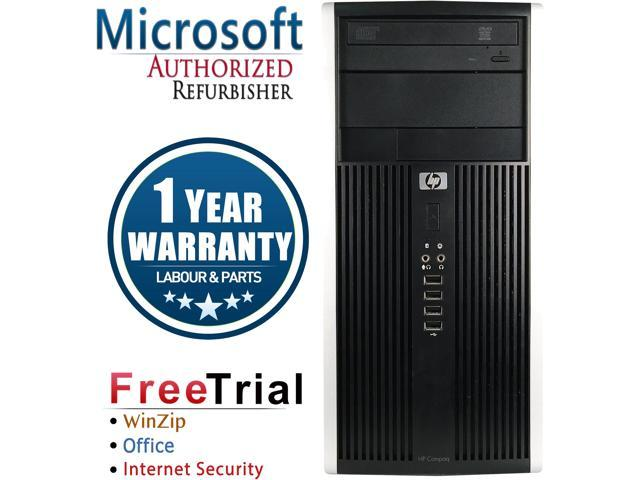 Refurbished HP Compaq Pro 6305 Tower AMD A4-5300B 3.4G / 4G DDR3 / 2TB / DVD / Windows 10 Professional 64 Bits / 1 Year Warranty