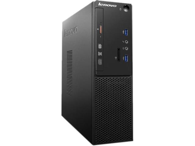 Lenovo S510 10KY002AUS Desktop Computer - Intel Core i3 (6th Gen) i3-6100 3.70 GHz - Small Form Factor - Black