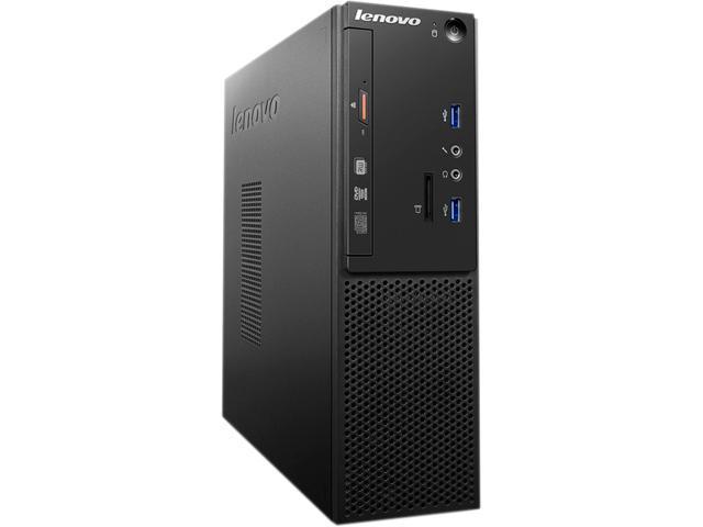Lenovo S510 10KY002BUS Desktop Computer - Intel Core i5 (6th Gen) i5-6400 2.70 GHz 4GB DDR4 SDRAM 500 GB HDD - Small Form Factor - Black