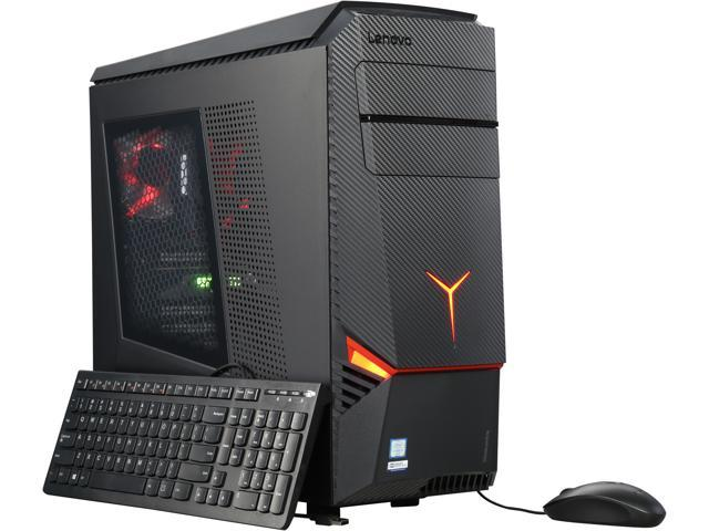 Lenovo Desktop Computer IdeaCentre Y900-34ISZ Intel Core i7 6th Gen 6700K (4.00 GHz) 16 GB DDR4 1 TB HDD 128 GB SSD AMD Radeon RX 480 Windows 10 Home