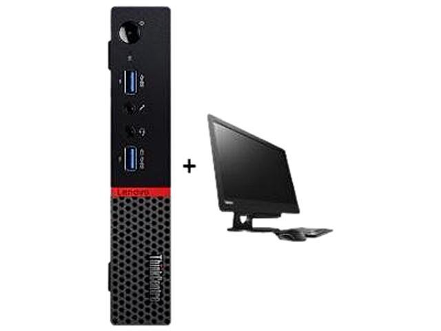Lenovo ThinkCentre M900 10FM001UUS Desktop Computer - Intel Core i5 i5-6500T 2.50 GHz - Tiny - Black