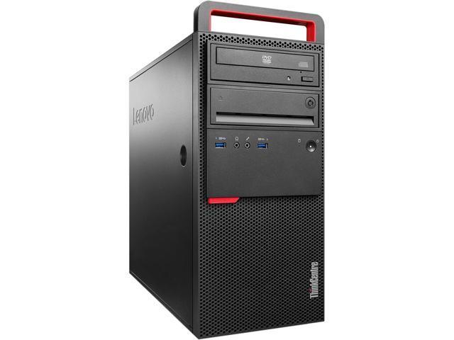 Lenovo ThinkCentre M900 10FD0025US Desktop Computer - Intel Core i5 i5-6500 3.20 GHz - Mini-tower - Black