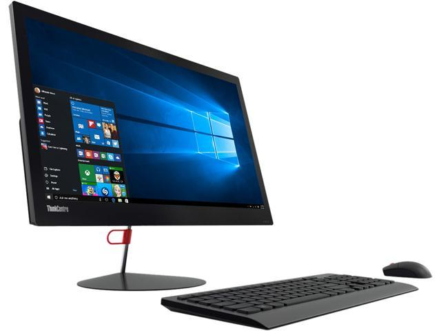 Lenovo ThinkCentre X1 10KE0007US All-in-One Computer - Intel Core i5 i5-6200U 2.30 GHz - Desktop - Business Black