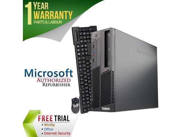 Refurbished Lenovo ThinkCentre M90P Desktop SFF Intel Core i3 530 2.93G / 8G DDR3 / 320G / DVD / Windows 7 Professional 64 Bit / 1 Year Warranty