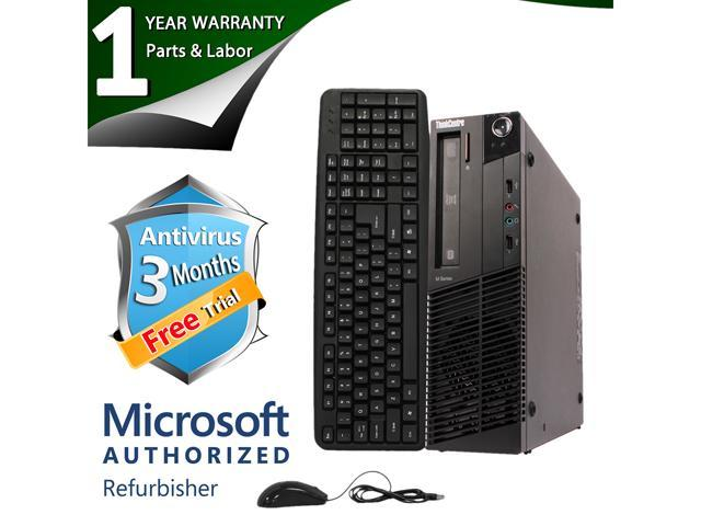 Lenovo Desktop Computer M92P Intel Core i3 3rd Gen 3220 (3.30 GHz) 4 GB DDR3 250 GB HDD Intel HD Graphics 2500 Windows 7 Professional 64-Bit