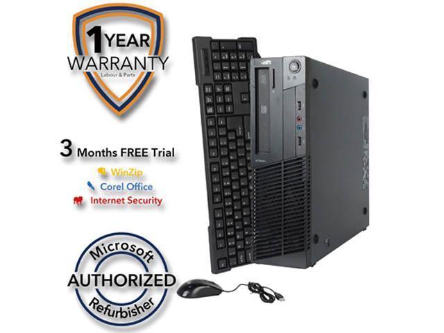 Lenovo Desktop Computer M92 Intel Core i5 3rd Gen 3470 (3.20 GHz) 4 GB DDR3 320 GB HDD Windows 7 Professional 64-Bit