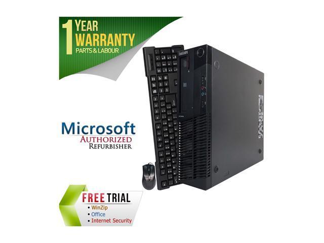 Lenovo Desktop Computer M82P Intel Core i5 3rd Gen 3470 (3.20 GHz) 8 GB DDR3 320 GB HDD Windows 7 Professional 64-Bit