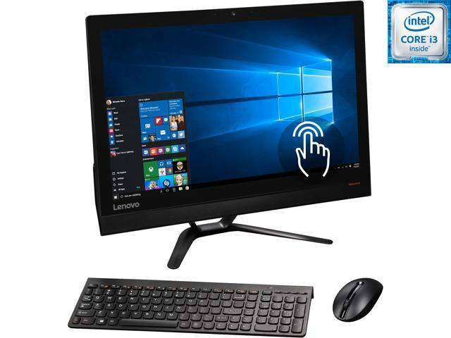 Lenovo All-in-One Computer IdeaCentre 300-23ISU (F0BY0041US) Intel Core i3 6th Gen 6100U (2.30 GHz) 8 GB DDR4 1 TB HDD 23