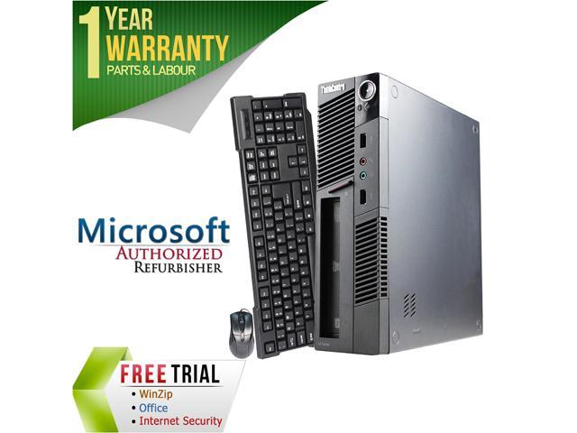 Lenovo Desktop Computer M91 Intel Core i5 2nd Gen 2400S (2.50 GHz) 4 GB DDR3 1 TB HDD Intel HD Graphics 2000 Windows 7 Professional 64-Bit