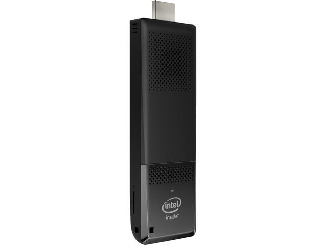 Intel Compute Stick BOXSTK1AW32SC Ultra-slim PC Intel Atom X5-Z8300 (1.44 GHz) 2 GB DDR3L 32 GB eMMC Intel HD Graphics Windows 10 Home 32-Bit