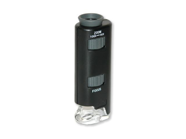 CARSON MM-200 LED Lighted Pocket Microscope
