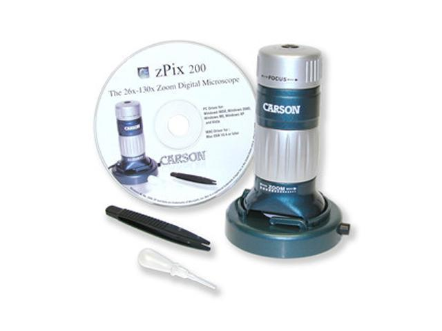 CARSON MM-740 Digital Microscope With 26x - 130x Optical Zoom