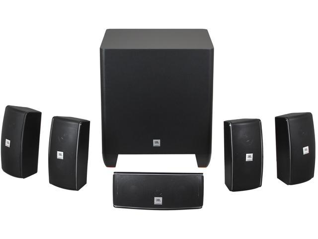 JBL CINEMA 610 5.1 CH Home Theater speakers system with powered subwoofer and dedicated center speaker