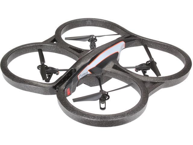 Parrot PF721000 Black / Blue / Orange AR Drone 2.0 Remote Flying Drone w/ HD Camera - Blue/Orange