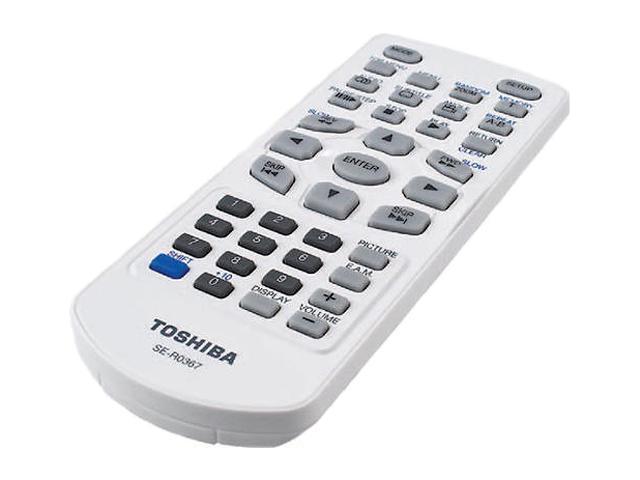 """TOSHIBA 6.9"""" Portable DVD Player, SD-P74S"""