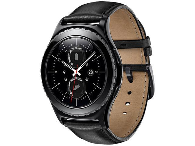 Samsung Gear S2 Smartwatch R732 Stainless Steel 40mm (Classic) - Black
