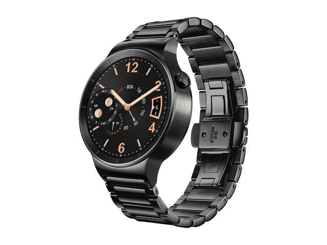huawei 55020533. huawei smart watch black stainless steel with link band model 55020539 55020533