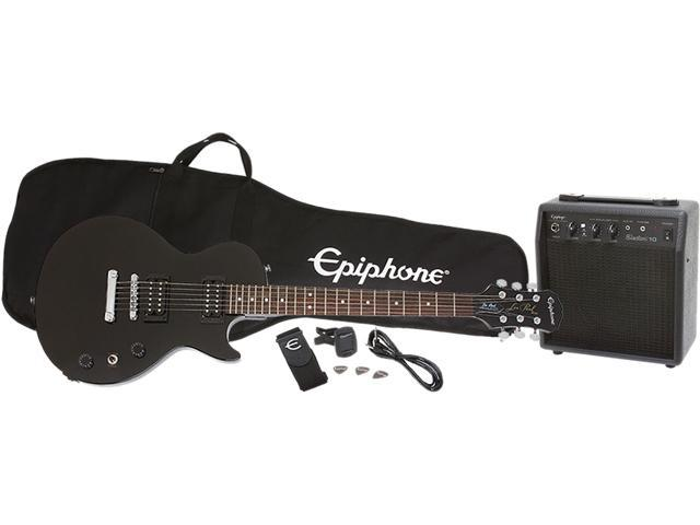 epiphone les paul special ii player pack ebony. Black Bedroom Furniture Sets. Home Design Ideas