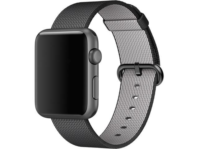 Apple 42mm Black Woven Nylon Band for Apple watch 42mm Model MM9Y2AM/A