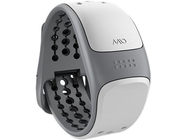 Mio Link Heart Rate Wristband  ( White Medium/Small )