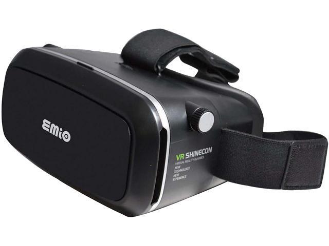 Emio 239 Infinivision VR Visor with Bluetooth Remote Black