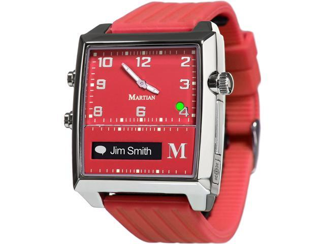 Martian MG100RSR G2G Watch Red/Silver/Red