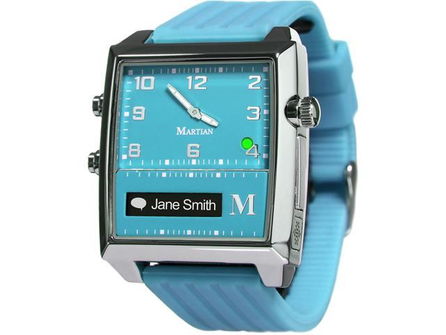 Martian MG100TST G2G Watch Turquoise/Silver/Turquois