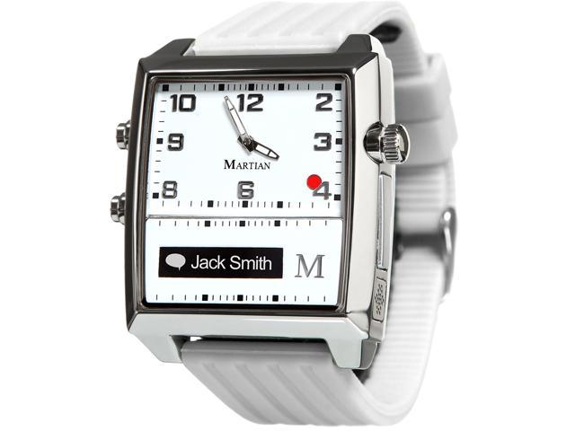 Martian MG100WSW G2G Watch White/Silver/White