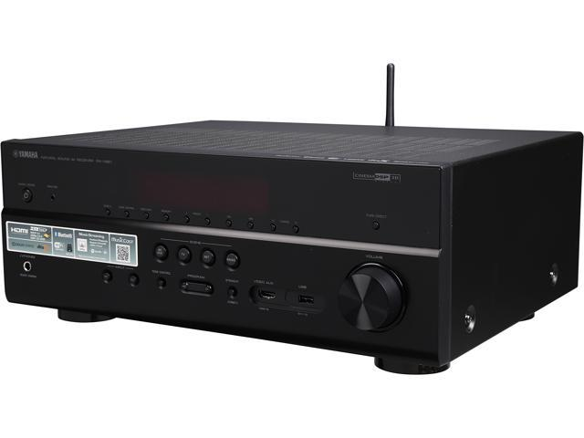yamaha rx v681 7 2 channel network a v receiver black. Black Bedroom Furniture Sets. Home Design Ideas