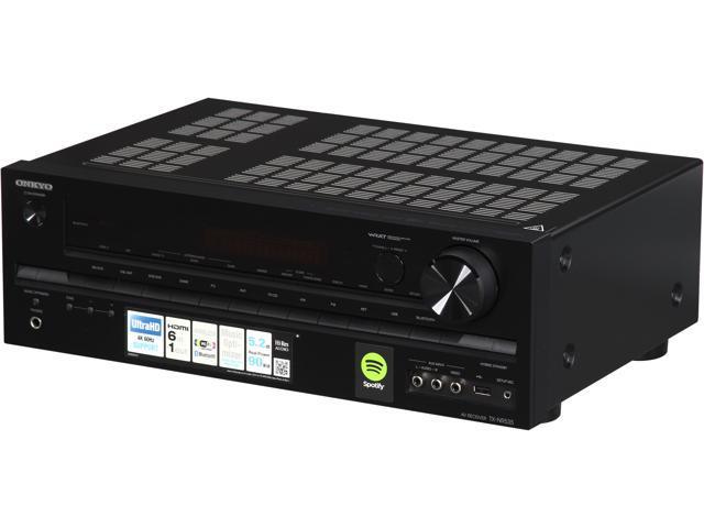 onkyo nr535. onkyo tx-nr535 5.2 channel 4k ready av receiver nr535