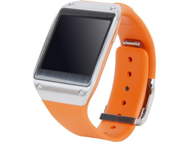 Samsung SM-V700 Galaxy Gear Android Digital Smartwatch Wrist Watch - Wild Orange