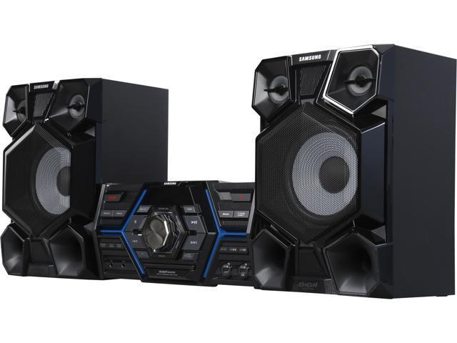 samsung giga 1600w mini component bluetooth audio system black. Black Bedroom Furniture Sets. Home Design Ideas